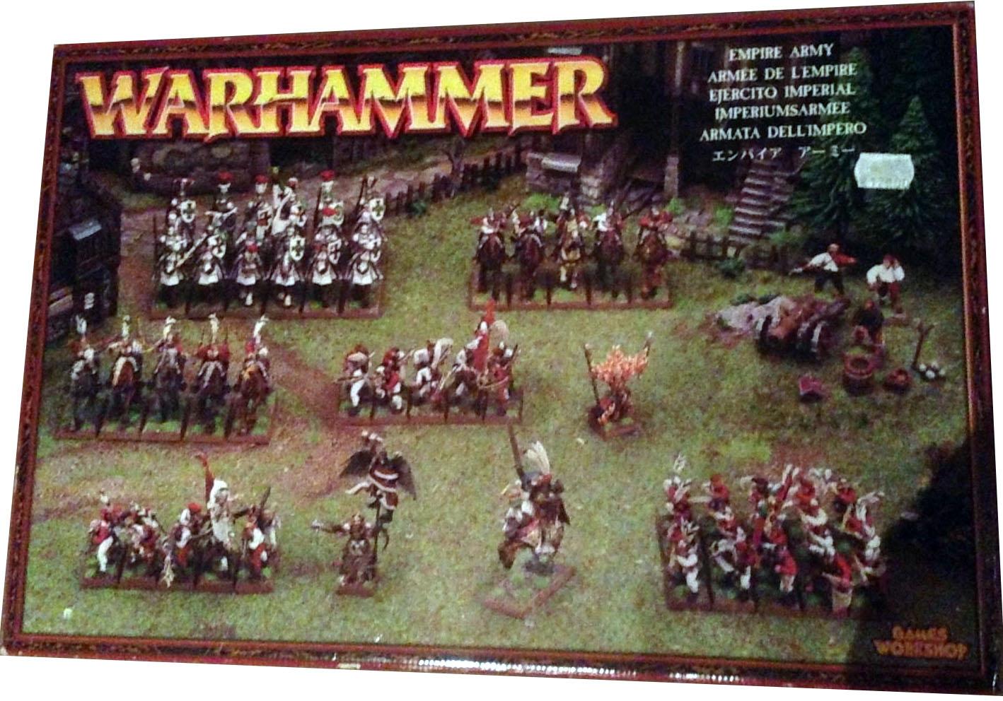 1985 # Pippin Panehead lanciers milice Warhammer-Empire-C11 Demi-Portion